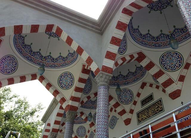 hatay dörtyol abacıoğlu camii giriş bölümü