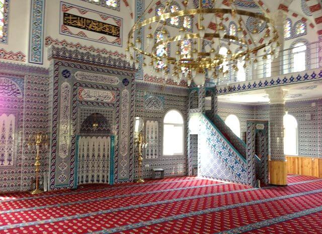 hatay dörtyol abacıoğlu camii mihrap nakış