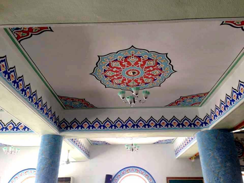 Afsin-Pir-Ali-Cami-nakkas-calismasi-2