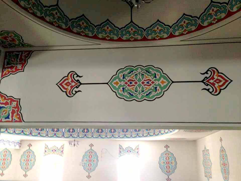 Afsin-Pir-Ali-Cami-nakkas-calismasi-7