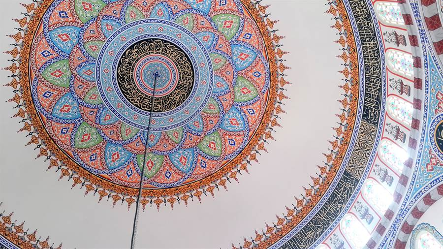 osmaniye-bulbul-cami-kubbe-susleme-nakkas