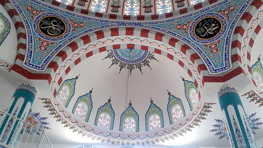 osmaniye-bulbul-cami-nakkas-calismalari