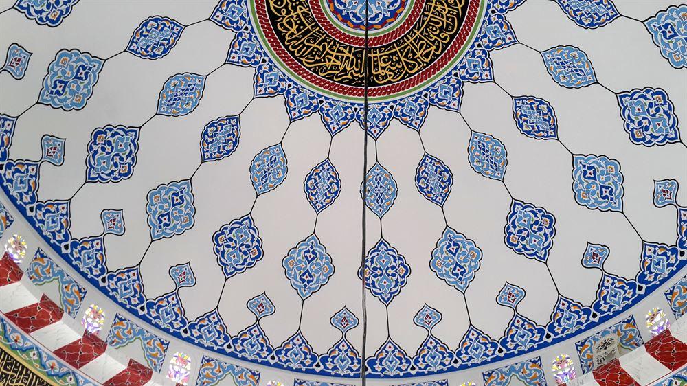 osmaniye-unal-cami-nakkas-calismasi